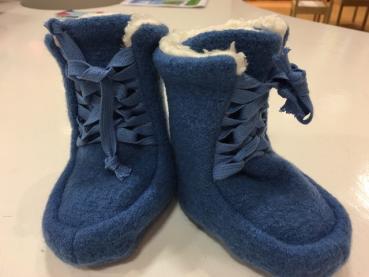 Pickapooh Booties Walk (blau)