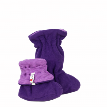 Manymonth Winter Booties (Lavender Crystal)