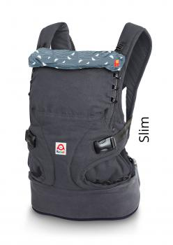 Ruckeli Babytrage SLIM Limited Edition (Birds Blue)