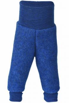 Engel Hose Wollfleece (blau-melange)
