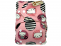 Mobile Preview: Anavy Wollsnap Onesize Katzen rosa