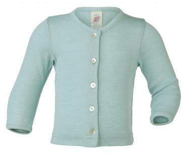 Engel Baby Strickjacke Wolle/Seide (Gletscher)