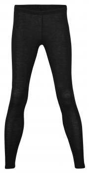 Engel Damen-Leggings Wolle Seide (schwarz)