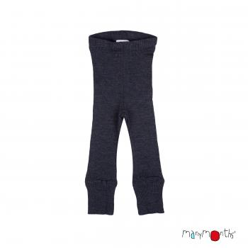 Manymonth Unisex Leggings (Foggy Black)