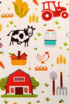Tula Deckenset 120x120cm 3er Pack (On the Farm)