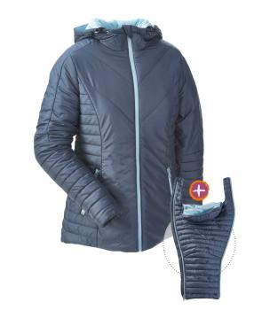 Mamalila Winter Steppjacke (blau)