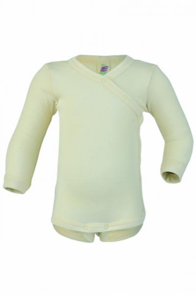Engel Baby-Body Wolle/Seide (natur)