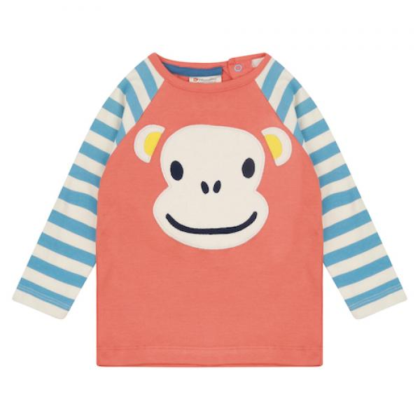 Piccalilly Langarmshirt Ape Face